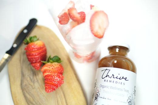 Sweetheart Strawberry Iced Tea