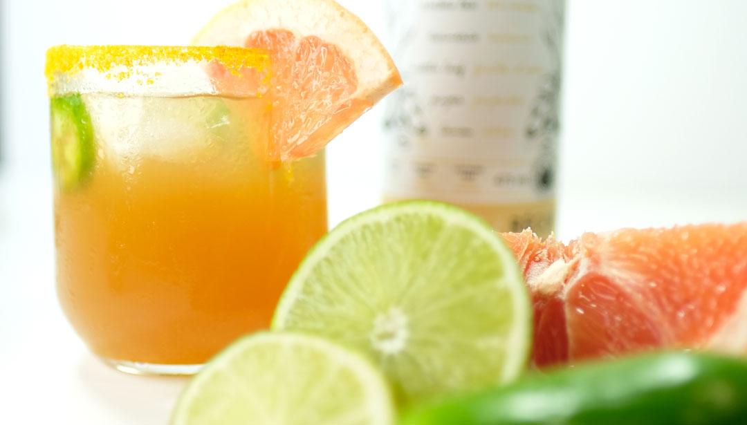 Spiced Paloma Cocktail