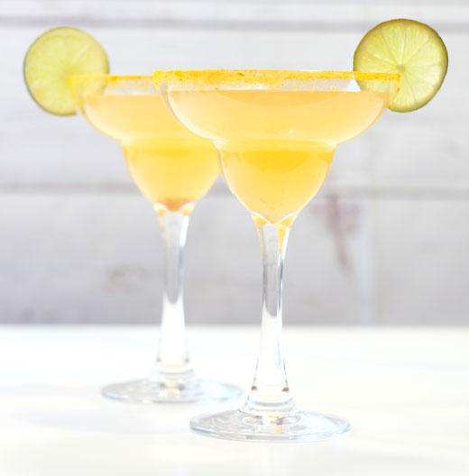 two ginger margaritas