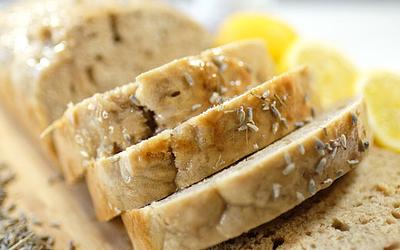 Vegan Lavender Lemon Loaf